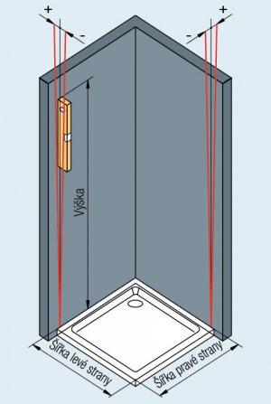 Montáž sprchového koutu Sanswiss v Praze