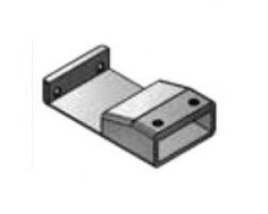Spojovací díl pro Concept Walk-In EASY: kombinace dvou pevných stěn STR4P, chrom