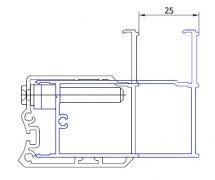 ATYP profil k rozšíření o 25 mm