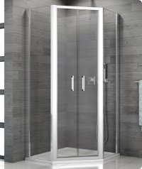 TOP52 - ATYP dvoukřídlé dveře pro pětiúhelníkový kout 60-100 cm