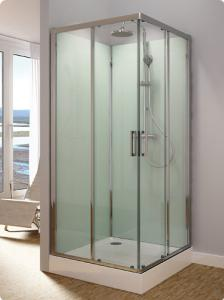 sprchové kabiny čtvercové