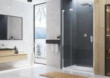 CA13 - jednokřídlé dveře s pevnou stěnou v rovině pravé 110 cm