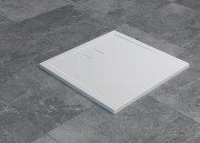 Livada - čtvercová sprchová vanička 90x90, bílá