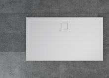 Livada - obdélníková sprchová vanička 160x90, bílá, odtok na delší straně