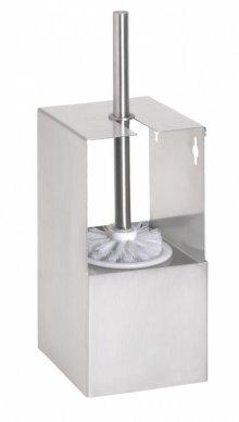 Niva - WC štětka na zavěšení, nerez, k nalepení