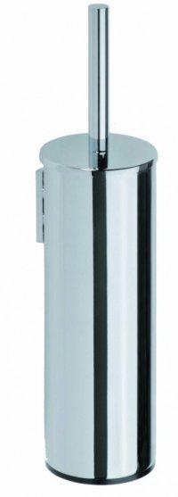 Omega - WC štětka, válcová rovná, černý kartáč