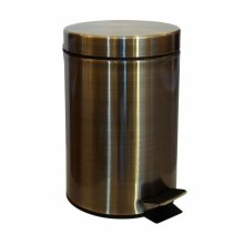 Retro bronz - odpadkový koš 3l