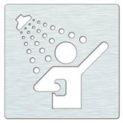 Ikona - sprchy, lesk