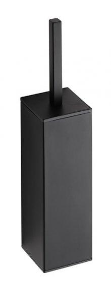 Nero - WC štětka válcová na postavení nebo zavěšení, černá