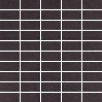 Concept CN14 natura - dlaždice mozaika 33x33 černá matná