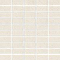 Concept CN99 poler - dlaždice mozaika 33x33 bílá lesklá