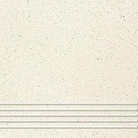 Quarzite 01 - schodovka 30x30 krémová matná