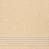 Quarzite 03 - schodovka 30x30 béžová matná