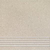 Quarzite 12 - schodovka 30x30 šedá matná