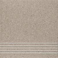 Quarzite 13 - schodovka 30x30 šedá matná