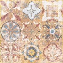 Flamenco FLM06 natura - dlaždice dekor 33x33 hnědá matná