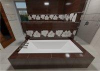 3D návrh koupelny 12m2 a více