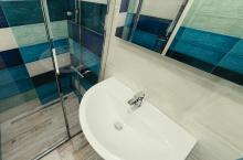 3D návrh - koupelna Shades