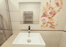 3D návrh - koupelna Coraline Coral