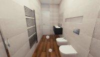 3D návrh - koupelna Love Core