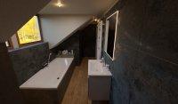 3D návrh - koupelna Quenos Graphite