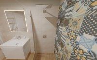 3D návrh - koupelna Novabell Déco