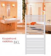 BKL.ER 60x76 elektrický radiátor s regulátorem, do zásuvky, bílá