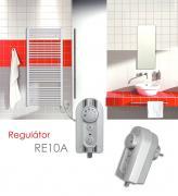 Elektronický regulátor RE10A se sušením, metalická stříbrná
