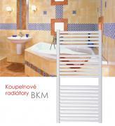 BKM.EI 45x123 elektrický radiátor s elektronickým regulátorem prostorové teploty