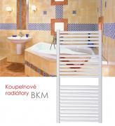 BKM.EI 75x181 elektrický radiátor s elektronickým regulátorem prostorové teploty