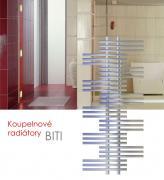 BITI.ES 55x125 elektrický radiátor bez regulace, do zásuvky, chrom