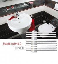 Sušák ručníků LINER-E 55x39, bílá