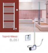 EL.05 I 700 W elektrické topné těleso s INFRA regulátorem , bílá