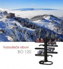 Vysoušeč obuvi BO 120, černá