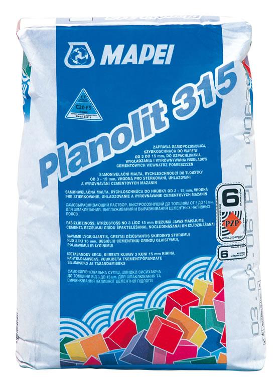 Mapei Planolit 315 - samonivelační stěrka, rychle tvrdnoucí, do interiéru 273023