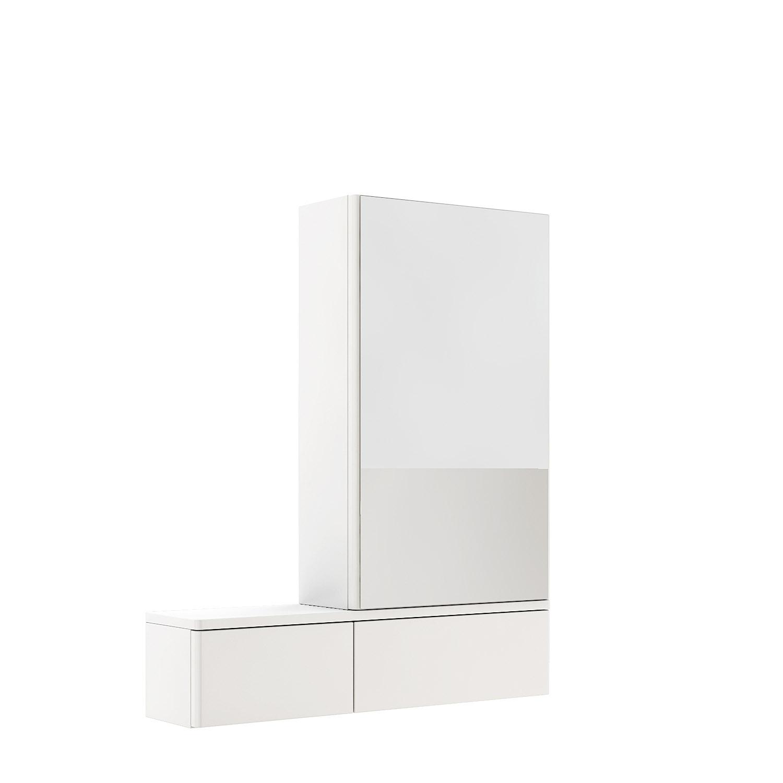 Kolo Nova Pro - zrcadlová skříňka 70,8 x 85 cm, pravá, bílá 88433000