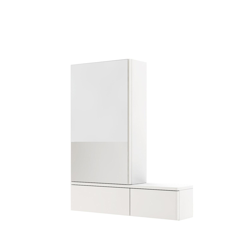 Kolo Nova Pro - zrcadlová skříňka 70,8 x 85 cm, levá, bílá 88432000