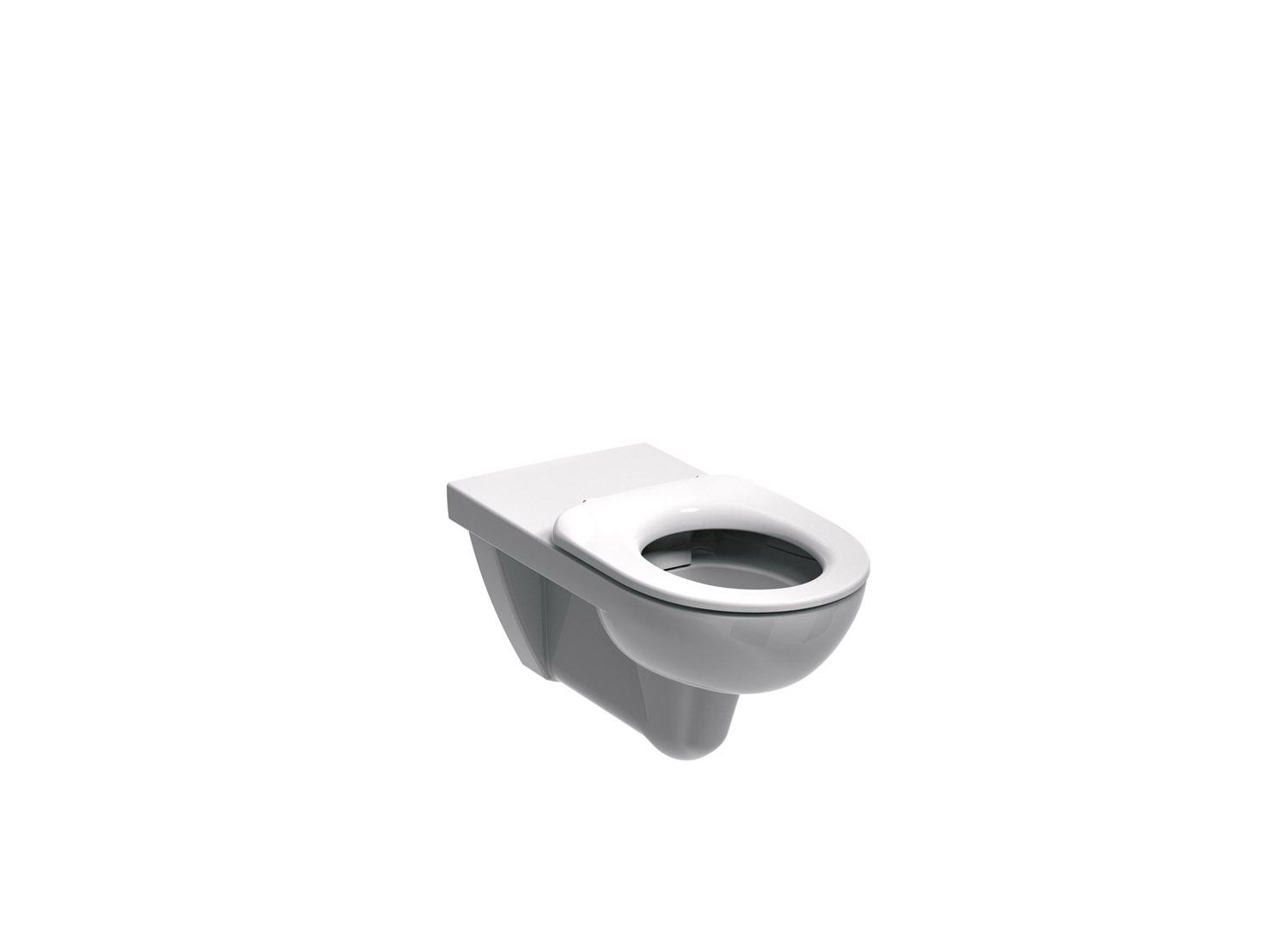 Kolo Nova Pro Bez Bariér - WC závěsné Rimfree pro tělesně postižené, bez sedátka M33520000