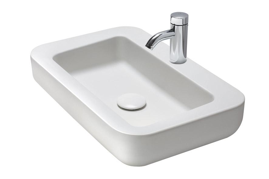 Kolo Coctail - umyvadlo na desku 65 x 42 cm L31666000