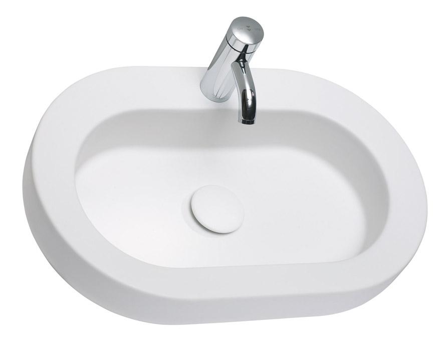 Kolo Coctail - umyvadlo na desku 65 x 42 cm L31665000