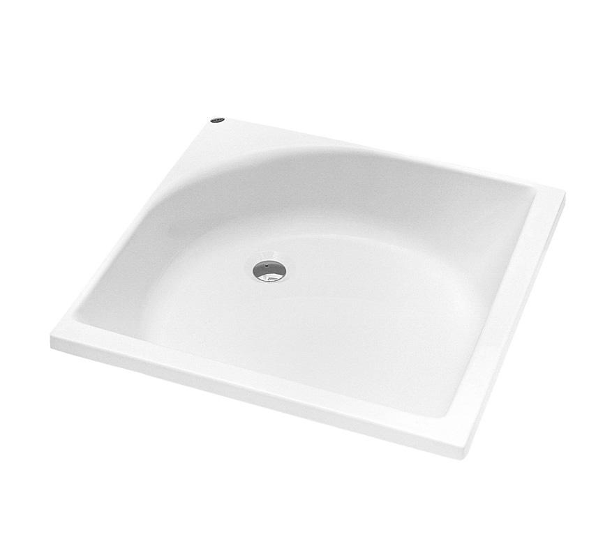 Kolo Hluboká čtvercová sprchová vanička 80 x 80 cm XBK0380000