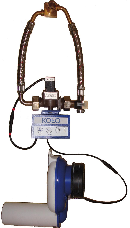 Kolo Automatický termický splachovač pisoárů pro napájení z baterie 96025000