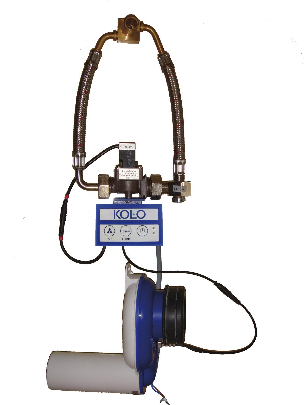 Kolo Automatický termický splachovač pisoárů pro napájení z elektrické sítě 230 V AC 96026000