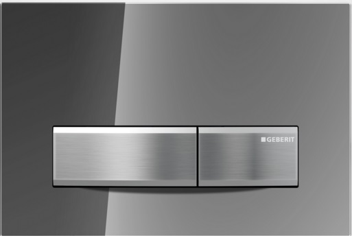 Geberit Ovládací tlačítko Sigma50, kouřové zrcadlo/zinkový odlitek 115.788.SD.5