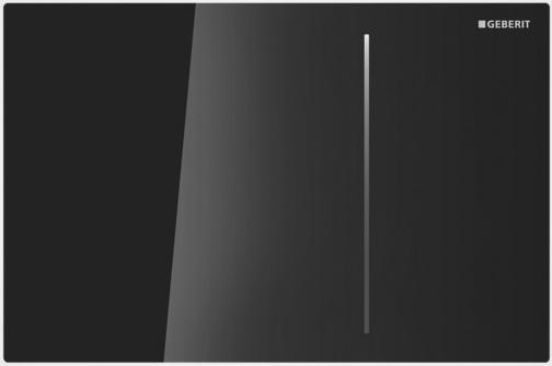 Geberit ovládací tlačítko Sigma70, sklo, černá 115.620.SJ.1