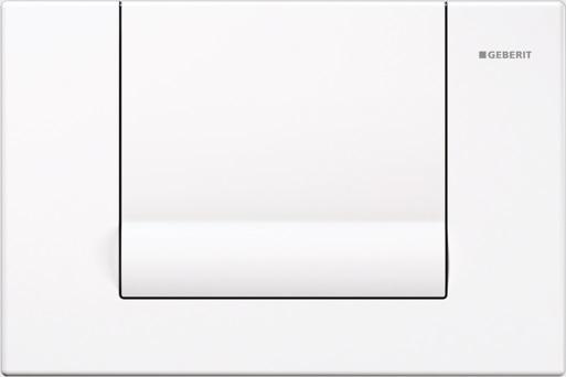 Geberit Ovládací tlačítko Tango, zinkový odlitek, bílá 115.760.11.1
