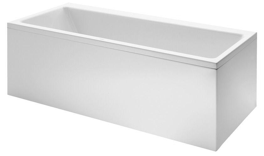 Laufen Pro - vana 160x70, do levého rohu, včetně L-panelu, akrylát 4-5 mm H2339560000001