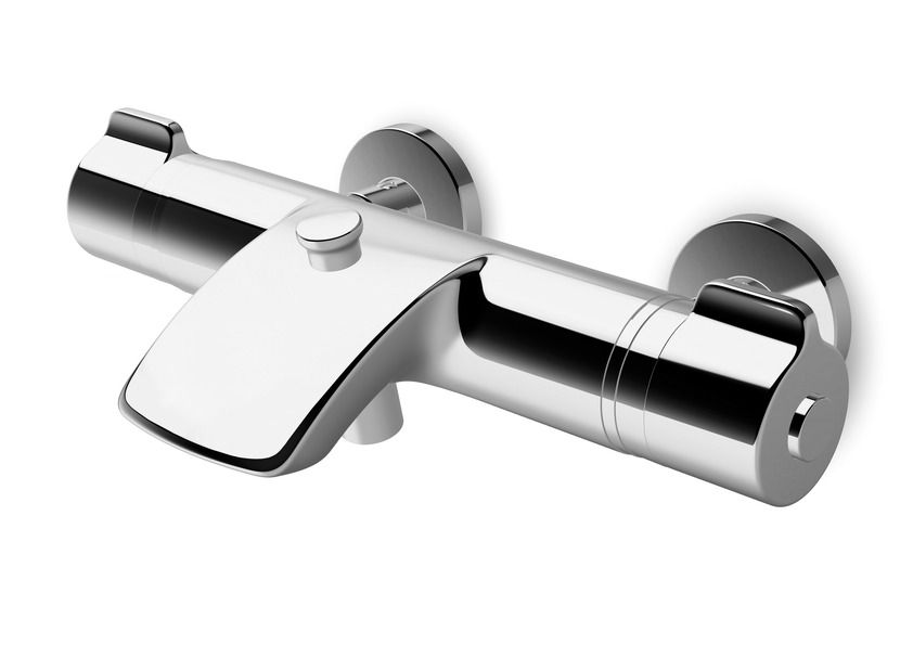 Laufen Curveprime - vanová termostatická nástěnná baterie H3237070044001