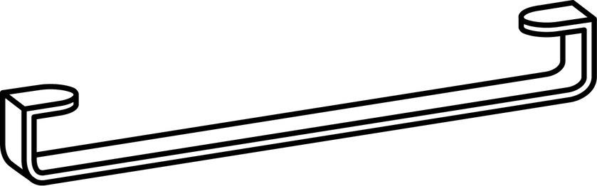 Laufen Living by Laufen - držák na osušky pro umyvadlo H814435 H8954360040001