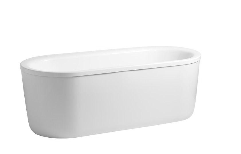 Laufen solutions - vana 180x80 - samostatně stojící, masáž vodní H2245120006351